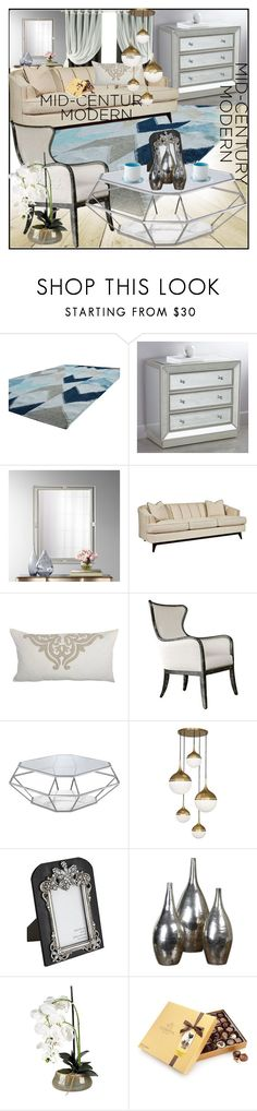 """""""lampsplus"""" by sabahetasaric ❤ liked on Polyvore featuring interior, interiors, interior design, home, home decor, interior decorating, Kichler, Universal Lighting and Decor, Uttermost and Jonathan Adler"""