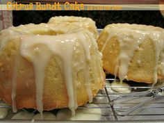 pinner says:Citrus Bundt Cake - Citrus Bundt Cake has a pound-cake-like texture, it's rich, buttery and sinfully delicious.plus for extra giggles, read what my youngest son has to say about it! Perfect Pound Cake Recipe, Pound Cake Recipes, Lemon Recipes, Sweet Recipes, Baking Recipes, Kitchen Recipes, Yummy Recipes, Healthy Recipes, Easy Desserts