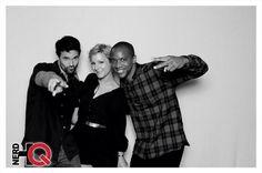 @jaugustrichards  Shenantics with @IMBrettDalton and @Melissatrn #AgentsofSHIELD #SDCC Night Three