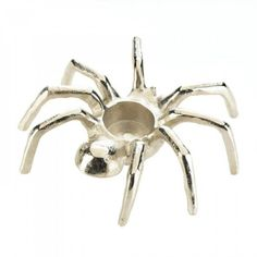 Spider Candleholder   #birdhouses #wallplaques #homeandgarden #vases #lanterns #walldecor #candleholders #homedecor #windchimes #spider
