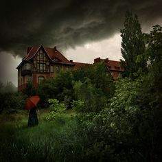 In this collection you can see remarkable landscape, house etc covered by dark and gloomy clouds. Description from crispyclicks.com. I searched for this on bing.com/images
