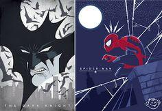 It's A Dan's World: MAKING A MARK: Dennis Salvatier - The Comic Book Vector Art Show Stealer