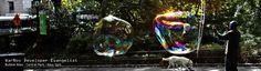 Bubble Man, Central Park. NY.