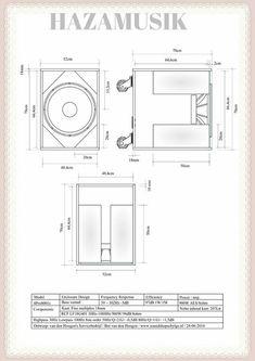 Hazamusik adalah Situs informasi dan tutorial soundsistem di indonesia terupdate dan terpercaya Subwoofer Box Design, Speaker Box Design, Speaker Plans, Passive Radiator, Diy Speakers, Photo Store, Car Audio, How To Plan, Woodworking Projects