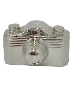 Loving this Ceramic Camera on #zulily! #zulilyfinds