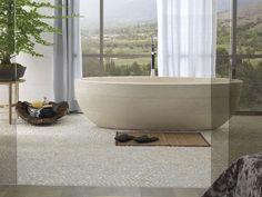 vasca da bagno centro stanza ovale in pietra naturale samara bioprot by lantic colonial