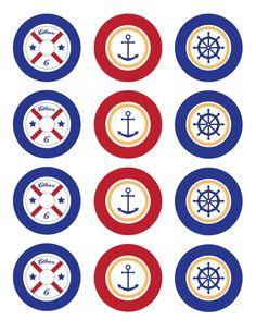 Free Sailboat Printables | Pinterest | Belle, Circles and Anchors
