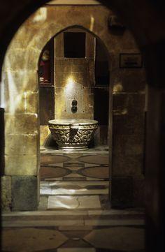 i love old bathroom in damascus  _hammam al hanna and na3yman
