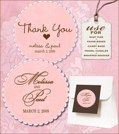 This Sweet Retro Free Wedding Labels Download is crazy cute and can be used on any of your wedding favors, with a variety of lovely colors.