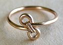 How to make a simple wire ring - and add a bead too