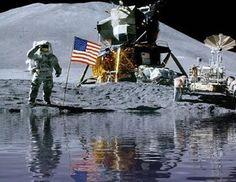 Fluido Estranho na Lua foi Observado na Década de 70 pela Missão Apollo 15?