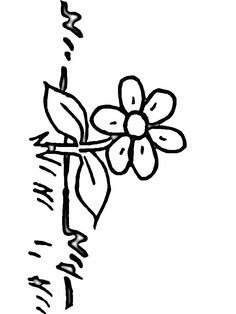 Flower10 Flowers Coloring Pages