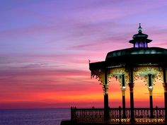 Bandstand Glory by Paul Sheppard Beautiful Sky, Beautiful World, Beautiful Images, Beautiful Scenery, Brighton Rock, Brighton England, Pretty Pictures, Cool Photos, Amazing Pictures