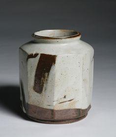 Buncheong Faceted Jar, Sung Jae Choi, Korea. Pucker Gallery