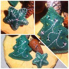 felt Gingerbread Cookies, Felt, Desserts, Christmas, Gingerbread Cupcakes, Tailgate Desserts, Xmas, Felting, Deserts