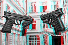 3D Picture of the Day: Guns