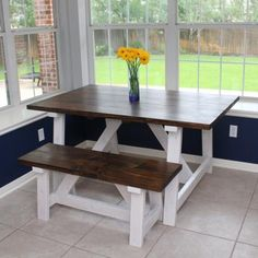Providence Table   Do It Yourself Home Projects from Ana White