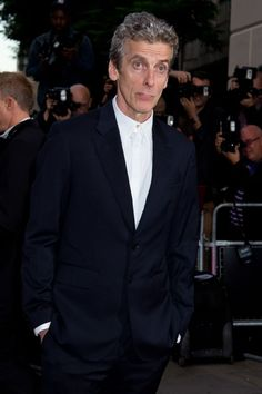 Peter Capaldi attends the GQ men of the Year awards at The Royal Opera House!