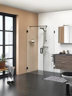 GetWet I am zwart swingdeur met zijwand Decor, Furniture, Ironing Center, Cabinet, Home Decor, Storage