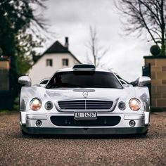 Can you mention one car which have more road presence than a CLK GTR? Because I can't think of any  #mercedes #clk #gtr #stuttgart…