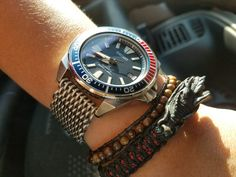 I wear a Shogun regularly. Its similar size to Samurai. Its displaced a lot of my watches. Like a LOT. I can almost say its a bad thing, its messed up Seiko Samurai, Citizen, Edc, Rolex Watches, Graphics, Accessories, Graphic Design, Printmaking, Every Day Carry