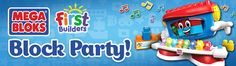 Mega Bloks® First Builders™ Block Party House Party