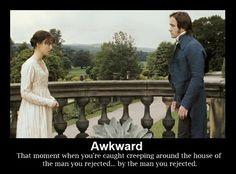 So awkward.