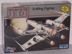Spacecraft Model Kits - Star Wars Return of the Jedi XWing Fighter Scale Model Kit by MPC Ertl >>> Check this awesome product by going to the link at the image.