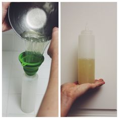 Homemade Hair Gel: This quick, easy to make gel is my preference over anything store bought. My hair has become so soft and feels so health...