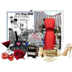 Wedding Vegas Style, created by kitty1255 on Polyvore