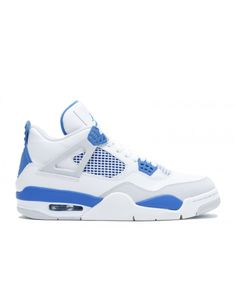 3815d33a0 Air Jordan 4 Retro 2012 Release White Military Blue Ntrl Grey 308497 105  New Jordans Shoes