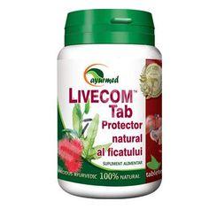 Livecom, 50 tablete, Ayurmed [6423359000110] - medicamente recomandate pentru Protectoare hepatice Ayurveda, Pharmacy, Alcohol