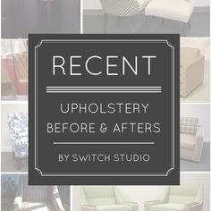 Blog   Switch Studio : Switch Studio Upholstery before and afters #upholstery #beforeafter http://www.switchstudio.ca/2015/01/upholstery-afters.html