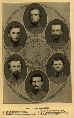 51st NC Soldiers