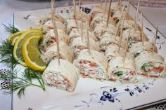 Finnish Recipes, Good Food, Yummy Food, Food Platters, Appetisers, Antipasto, Party Snacks, Fresh Rolls, Afternoon Tea