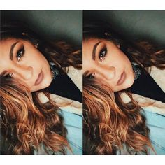 """andrea russett on Instagram: """"Seeing double ?"""" ❤ liked on Polyvore featuring andrea russett"""