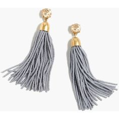 Crew for the Beaded tassel earrings for Women. Find the best selection of Women Jewelry available in-stores and online. Beaded Tassel Earrings, Tassel Jewelry, Brass Jewelry, Bead Jewellery, Steel Jewelry, Earrings Handmade, Women's Earrings, Beaded Jewelry, Nice Jewelry