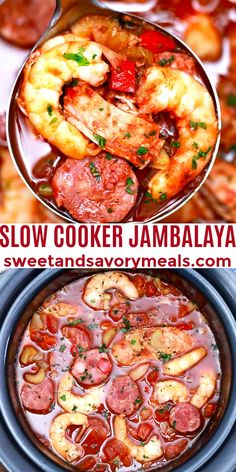 Grilled Chicken Recipes, Pork Recipes, Lunch Recipes, Slow Cooker Recipes, Easy Dinner Recipes, Seafood Recipes, Crockpot Recipes, Dinner Ideas, Slow Cooker Jambalaya