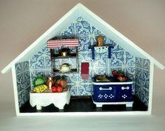 Roombox cozinha da vovó.À venda no site. contatolalyblue@gmail.com  www.facebook.com.br/lalybluelembrancascriativas