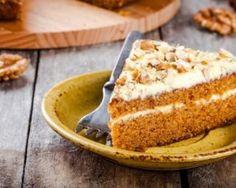 Carrot cake au glaçage léger à moins de 100 calories la part