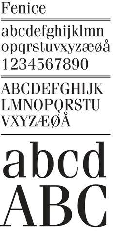 Fenice font.