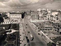 Madrid- Calle Princesa, 1948. Los dos solares que aparecen son los que más tarde…