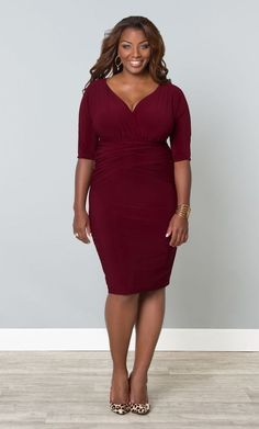 When you all eyes on you this is the #PlusSize fashion cocktail dress you want on your body!