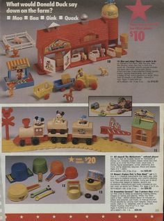 1988 Sears Wishbook - My sister had the train set and I think it is still some where.