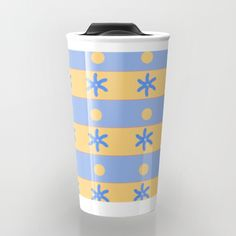 Take your #coffee to go with a beautiful #travel mug, perfect for #summer #summertime #ocean #sand