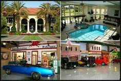 A luxury home for car lovers~