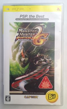 #PSP Japanese :  Monster Hunter Portable 2nd G ULJM 08019 http://www.japanstuff.biz/ CLICK THE FOLLOWING LINK TO BUY IT http://www.delcampe.net/page/item/id,0363023244,language,E.html