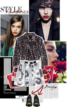 """""""#MARCtheDOT with Marc Jacobs Fragrance//Bamboleo"""" by fashionflux ❤ liked on Polyvore"""