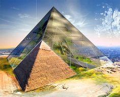 Surface luminescence hookup of some egyptian monuments