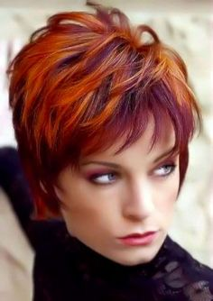 Short Hairstyles And Colors - 4